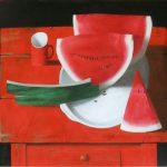 Große-Wassermelone-100-x-120-Öl-auf-LW-2011